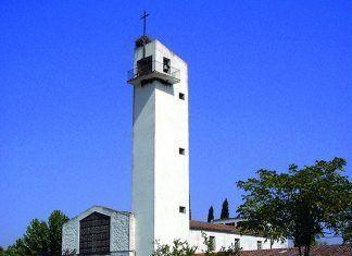 Iglesia de San José Obrero de Lácara (Foto Fraili Carmona Valviens)