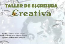 Taller gratuito de Escritura Creativa a cargo de Vanessa Cordero Duque