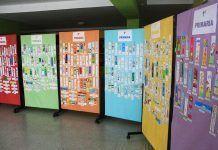 Exposición del concurso de marcapáginas 2018 de Puebla de la Calzada