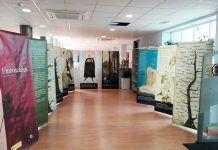 Exposición Emboscados en la Biblioteca de Montijo.