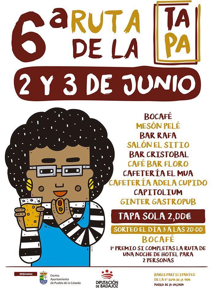Ruta de la Tapa de Puebla de la Calzada