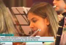 Alumnos y alumnas del Conservatorio de Montijo actuarán como miembros de las orquestas Infantil y Juvenil de Extremadura en su concierto de presentación (foto Canal Extremadura)