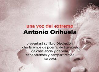 Cartel Antonio Orihuela en Montijo