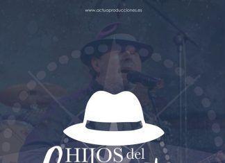 Concierto de Hijos de Levante, tributo a el Barrio en Puebla de la Calzada