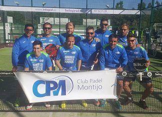 Club Pádel Montijo asciende a Segunda Categoría de Pádel Regional