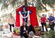 Cruz de Mayo del AMPA de Infantil del Colegio Padre Manjón de Montijo