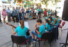 Música a la calle en Montijo