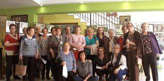 """Participantes en el taller """"Saber envejecer"""" en Puebla de la Calzada"""