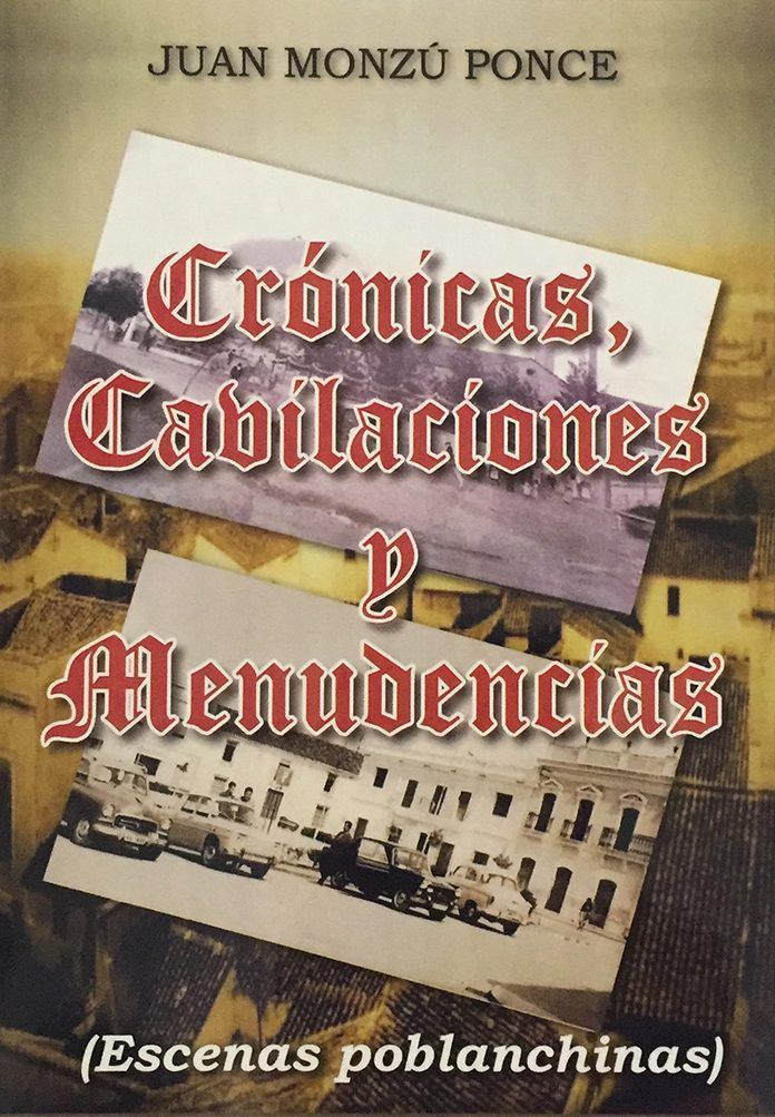Portada de Escenas Poblanchinas, libro de Juan Monzú Ponce