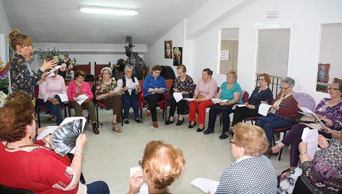 """Taller """"Saber envejecer"""" en Puebla de la Calzada"""