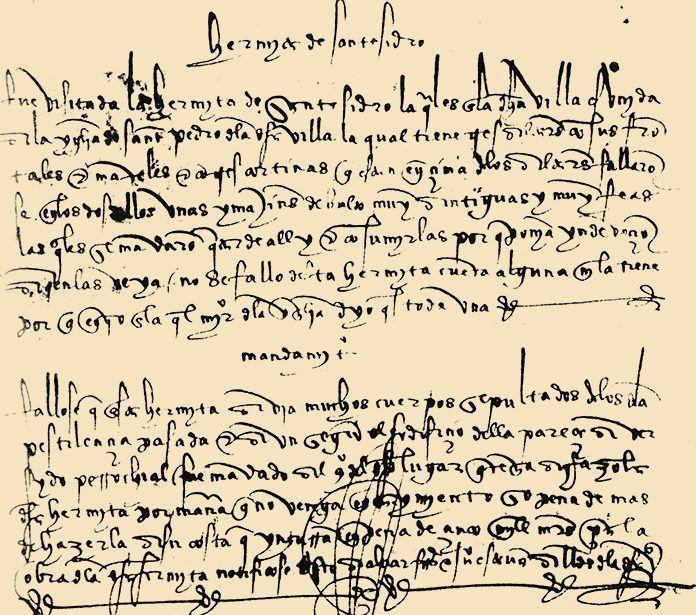 Visita de la Orden de Santiago a Montijo, año 1508