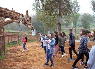 Alumnos de 1º ESO del IES Mª Josefa Baraínca han visitado la Reserva Natural el Castillo de las Guardas