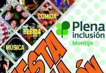 Cartel de la Fiesta por la Inclusión 2018 de Plena Inclusión Montijo