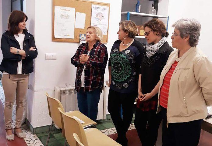 Charla de Malvaluna en la Asociacion de Mujeres Elvina Quintana