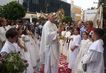 Corpus Christi en Puebla de la Calzada (foto Teodoro Gracia)