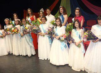 Gala de elección de la reina de la feria y fiestas San Pedro 2018 en Puebla de la Calzada
