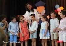 Graduación Infantil del colegio Ntra. Sra. del Carmen de Puebla de la Calzada
