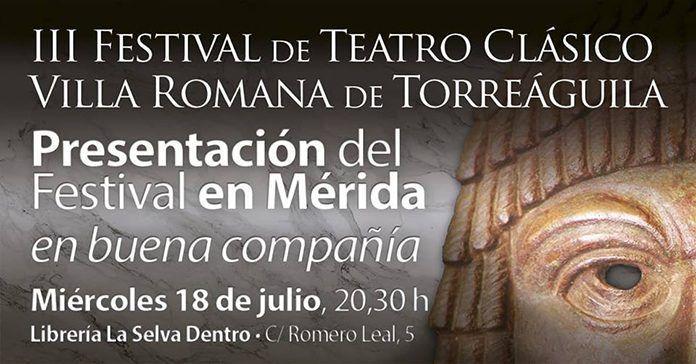 Presentación del Festival Torreáguila en Mérida