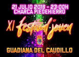 Cartel del XI Festival Joven de Guadiana del Caudillo