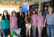 El Centro de Día de Guadiana del Caudillo recibió un cheque por valor de 1.500 euros para la compra de material