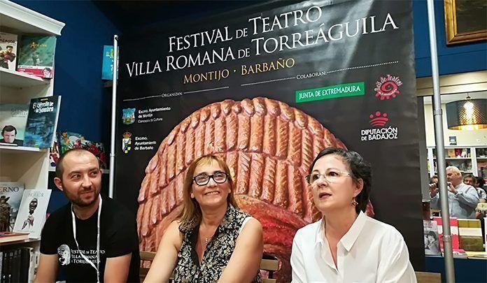 Presentación en Mérida del Festival de Teatro Clásico Villa Romana de Torreáguila