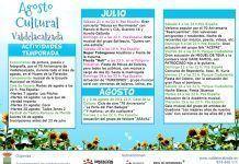 Programa del Agosto Cultural 2018 de Valdelacalzada