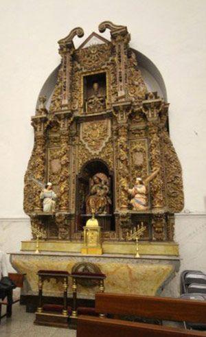Retablo de Santa Ana. Templo de San Pedro Apóstol