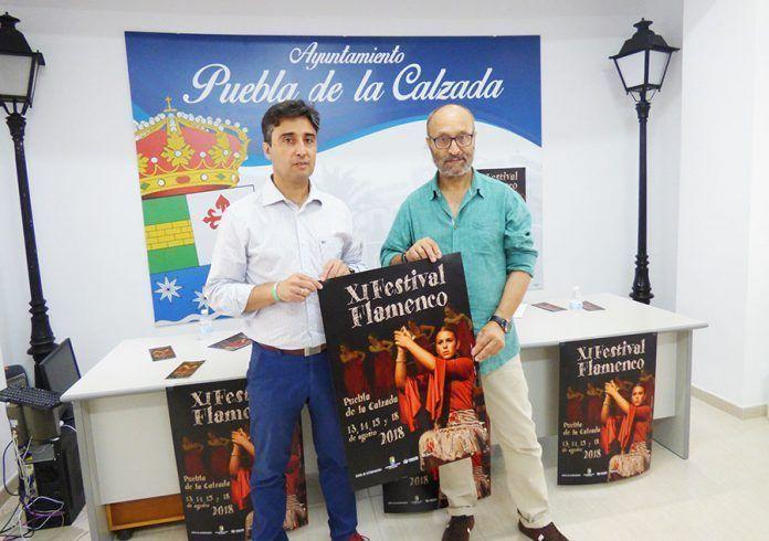 XI Festival de Flamenco de Puebla de la Calzada.