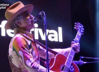 Mikel Erentxun en el Everlife Festival de Montijo