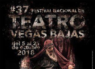 Cartel del XXXVII Festival Nacional de Teatro Vegas Bajas