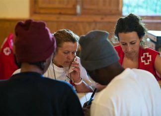 Cruz Roja atiende a migrantes en el CAED de Mérida