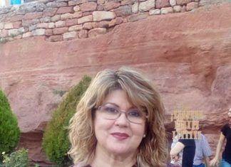Francisca Quintana con el XLI Premio de Poesía Espiga de Oro de Romanillos de Medinaceli, Soria