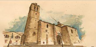 Iglesia de San Pedro en Montijo, obra de Carlos Tinoco de Castilla