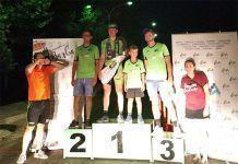 Podium del Gran Premio Fiestas de Barbaño de ciclismo
