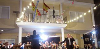 Presentación y estreno del Himno Oficial de Lobón compuesto por don Francisco Grau Vegara