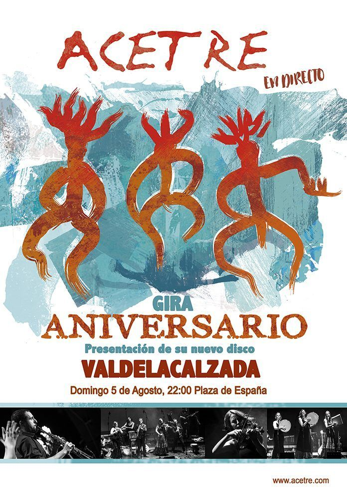 folklore en Valdelacalzada