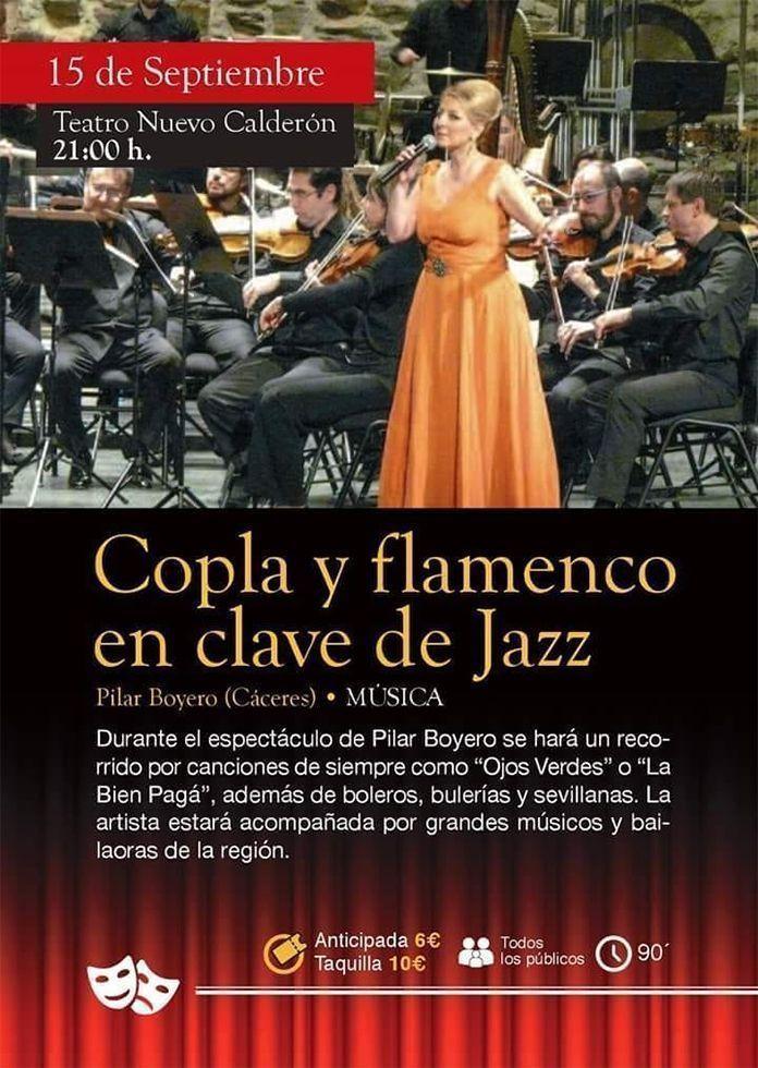 Copla y Flamenco en Clace de Jazz con Pilar Boyero y Pedro Monty