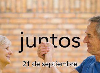 Cartel del Día Mundial del Alzheimer 2018 en Montijo