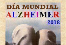 Cartel del Día Mundial del Alzheimer en el IES María Josefa Baraínca