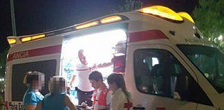 Dispositivo de Cruz Roja con motivo de las Feria de Montijo