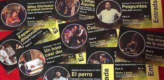 Entradas del XXXVII Festival Nacional de Teatro Vegas Bajas