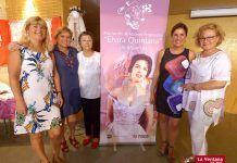 Exposición de Bolillos del taller de la Asociación de Mujeres Progresistas Elvira Quintana de Montijo