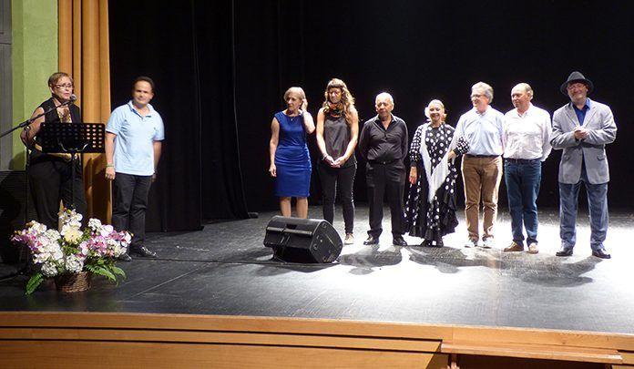 Participantes en el Recital Poético-Musical en Montijo