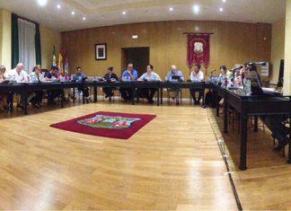 Pleno de septiembre de 2018 del Ayuntamiento de Montijo