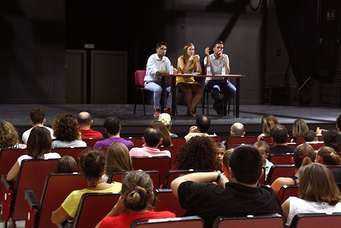 Presentación del nuevo curso de la Escuela Municipal de Música de Puebla de la Calzada (Fotografía Teodoro Gracia)