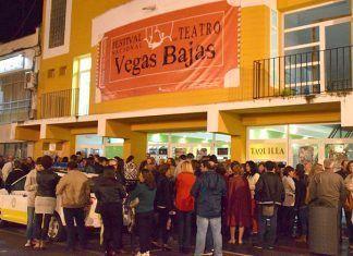 Publico del Festival Nacional de Teatro Vegas Bajas