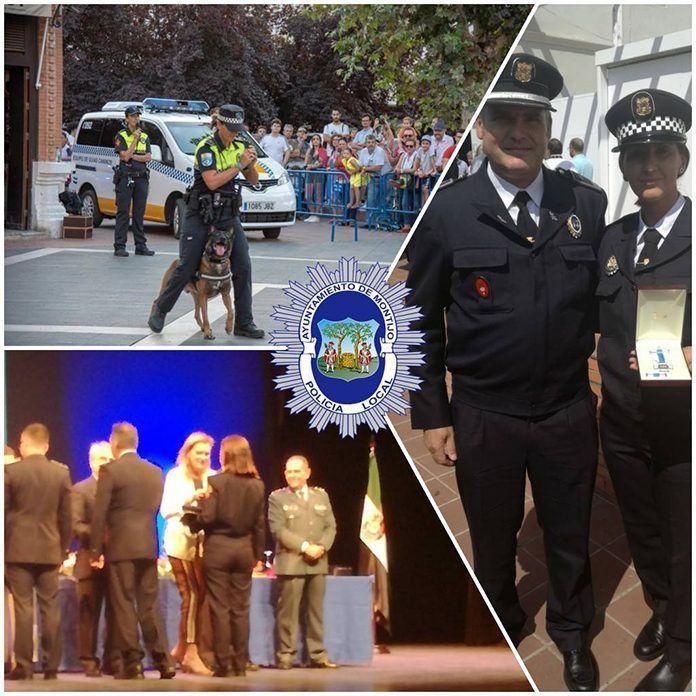 Vanessa Saavedra Seco ha recibido la medalla al mérito policial