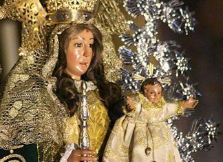 Virgen de Barbaño, detalle