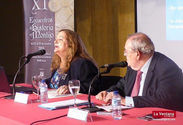 Gripe Española y Patrimonio Arqueológico Ángela Alonso Sánchez y Manuel Garcia Cienfuegos en los XI Encuentros de Historia en Montijo