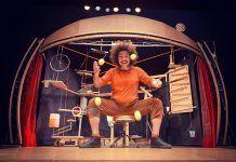 Mobil, teatro y circo de La Guasa